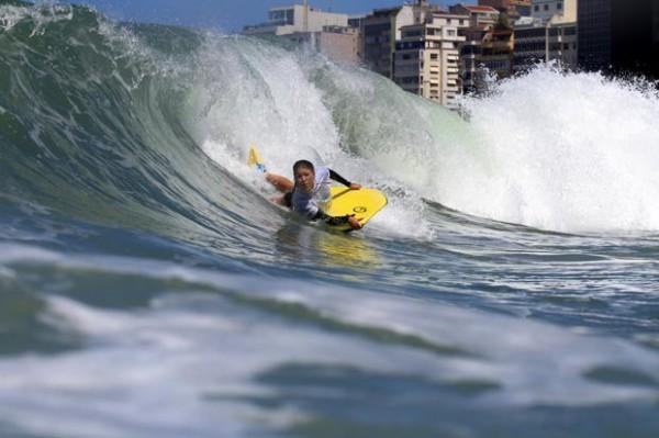 Nicolle Calheiros lidera o Feminino Pro. Foto Surf: Divulgação