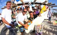 A equipe Cuscabarone sagrou-se campeão do Surf Festival de Imbé 2012, realizado neste final de semana (21 e 22/01) na praia de Imbé, no Litoral Norte Gaúcho.