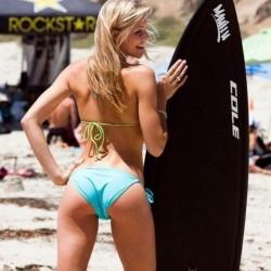 Fotos das mais belas gatas no surf