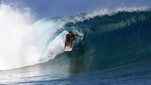 Joel Parkinson (AUS) colocou vice-campeão atrás de Mick Fanning (AUS) cimentar a posição No. 2 na classificação. © ASP / Kirstin