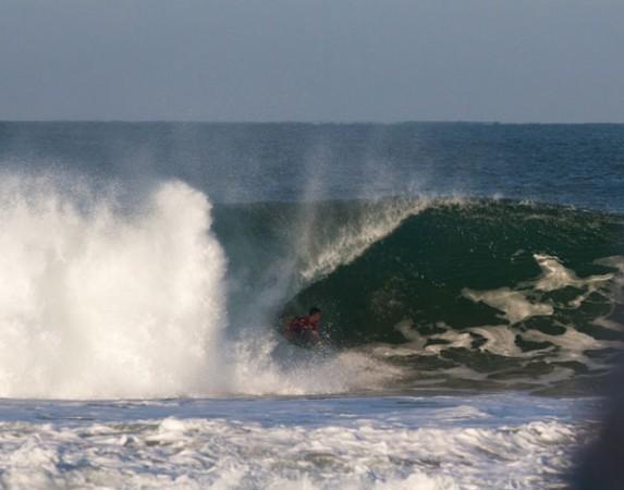 Mark McCarthy foi o grande nome do dia em Puerto Escondido