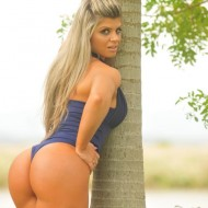 Fotos de Carine Felizardo vencedora do Miss Bumbum 2012