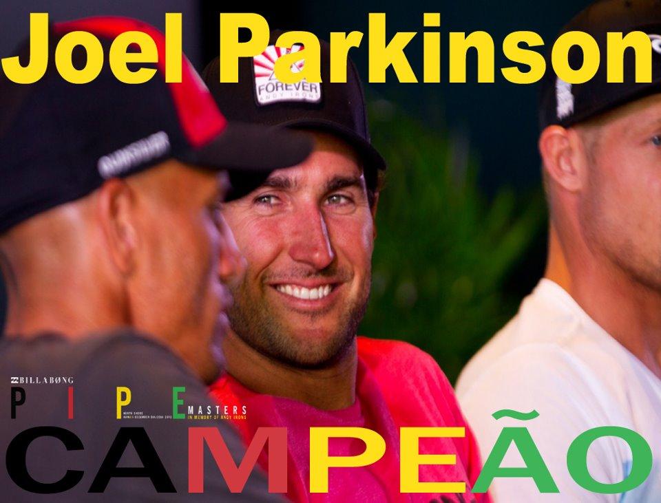 Joel Parkinson conquista seu primeiro título mundial de surf
