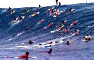 Maya Gabeira, Carlos Burle e outros surfistas que tiveram a coragem de encarar a onda mais pesada do mundo.
