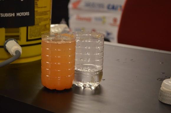 Os filtros são capazes de limpar e purificar qualquer água (Foto: Evelyn Guimarães)