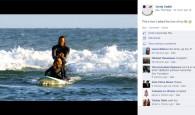 O surfista sul-africano Jordy Smith foi criativo ao pedir sua namorada, a modeloLyndall Jarvis, em casamento.Smith levou Lyndall para surfar […]