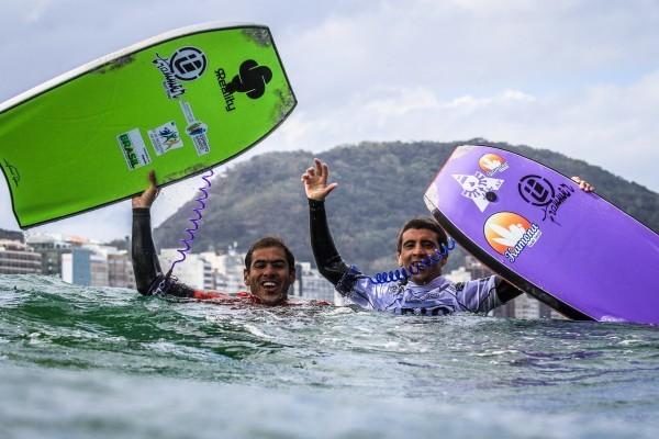 Brasileiro Hellinton Loureiro é o grande campeão do Rio Bodyboarding Pro International