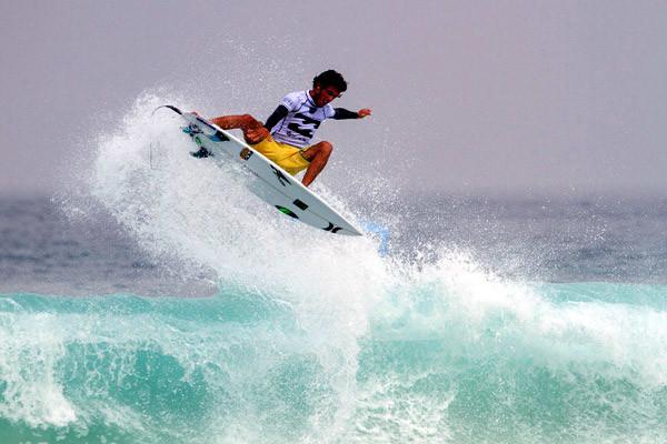 Filipe Toledo pulverizou os recordes do Billabong Rio Pro com seus aéreos