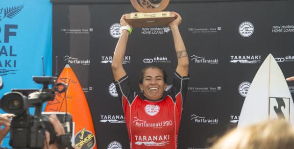 Silvana Lima está de regresso às grandes conquistas. Depois de em 2013 ter caído do World Tour feminino, a experiente brasileira alcançou um importantíssimo triunfo, ontem, no Port Taranaki Pro, etapa de 6 estrelas do circuito de qualificação feminino, que se disputou na Nova Zelândia.