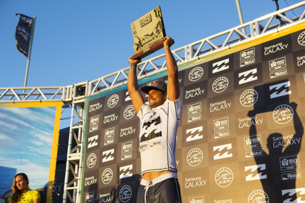 Michel Bourez vence o Billabong Rio Pro 2014