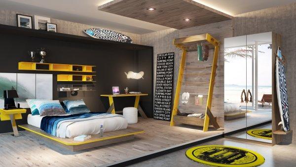 Empresa brasileira de surf, lança jogo de quarto para surfistas