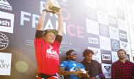 Havaiano John John Florence vence na França e entra na briga do título mundial, mas aumentam as chances de Gabriel […]