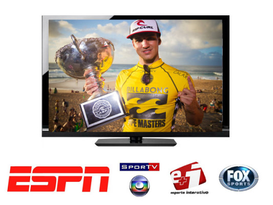 Por conta desta vitória para o esporte brasileiro, os canais esportivos já estão brigando pelos direitos de transmissão do próximo Mundial  de Surf.