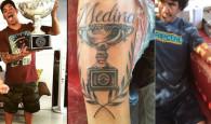 Charles Rodrigues, padrasto e treinador de Gabriel Medina, tatuou o sobrenome da família e o troféu do título mundial de […]