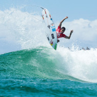 Adriano de Souza no Round 1 do Quiksilver Pro Gold Coast