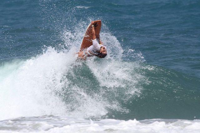 Isabela Sousa Circuito Cearense de Bodyboard 2015, praia do Futuro, Fortaleza. Foto: Lima Jr.