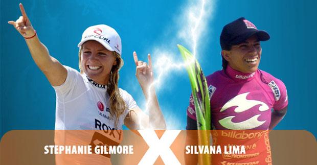 Silvana Lima volta a encarar a hexacampeã mundial no WCT  Stephanie Gilmore