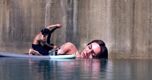 """Conhecido como """"Hula"""" O havaiano Sean Yoro, transforma construções abandonadas em arte. O talentoso artista de rua e surfista Havaiano […]"""