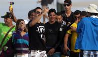 As ondas subiram, mas com o mar em transformação muito mexido na Barra da Tijuca para as primeiras rodadas eliminatórias […]