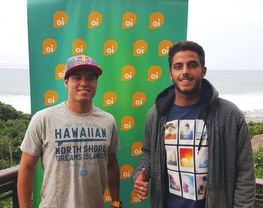 Adriano de Souza e Filipe Toledo, Coletiva Oi