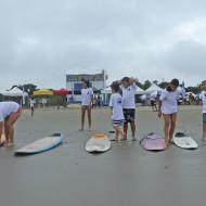 Encontro Paulista de Escolas de Surf em Bertioga.