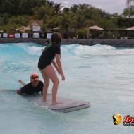 Clínica de surf Guaraná Black na Praia do Cerrado, Resort Rio Quente.