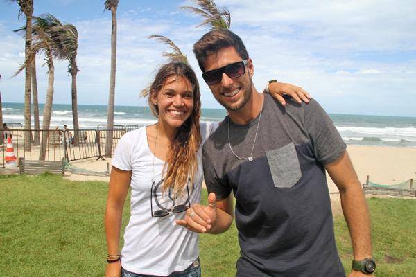 Isabela Sousa e Eder Luciano