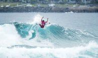 A quinta-feira amanheceu com boas ondas de 2-3 pés em Bombo Beach e o peruano Alonso Correa venceu o […]